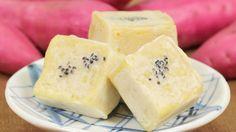 Sweet Potato Kintsuba Recipe さつま芋きんつば 作り方 レシピ