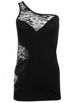 Sullen Clothing Diamond Dust Rebel Top, £29.99