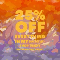 UNDAY SALE: 25% off Everything with Code JUNEART https://society6.com/cannymitts/s?q=random
