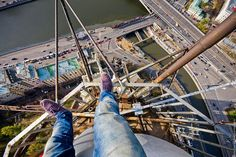 Heart-stopping Photos of Russian Daredevils Taken Without Any Safety Equipment | Bored Panda
