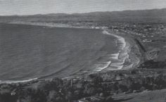 Old photo from Palos Verdes California looking at the south bay. Unknown Photographer.