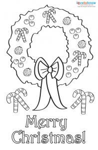 Christmas Coloring Cards For Kids Printable Free Coloring Cards - Christmas card templates to color