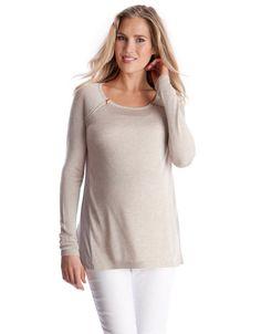 Seraphine Serenity Maternity Nursing Sweater at Amazon Women's Clothing store: