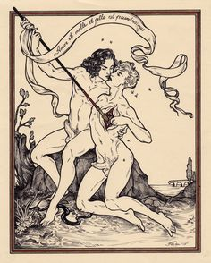 Love Is Rich With Both Honey and Venom, 2015 by ink, watercolor and gold ink on Ingres paper. Another painting now in the collection of Mr. Leslie, the founder of the museum where I exhibited. And with that, my show is closed! Art Nouveau, Design Graphique, Illustrations, Gay Art, Tarot Decks, Pretty Art, Erotic Art, Tarot Cards, Graphic