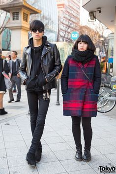 We spotted this stylish duo on the street in Harajuku, and they were nice enough to stop for a...