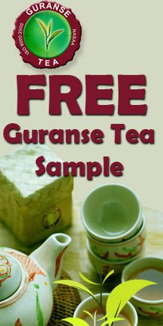 Free Guranse Tea Sample