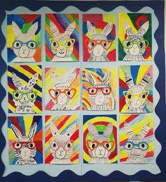 I School, Bulletin Board, Easter Bunny, Bunnies, Decoration, Cards, Kunst, Decor, Plank