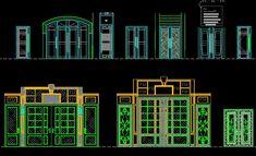 ★【Entrance Design】★-CAD Library | AutoCAD Blocks | AutoCAD Symbols | CAD Drawings | Architecture Details│Landscape Details