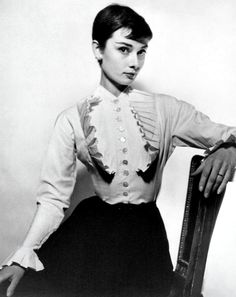 Audrey Hepburn by Cecil Beaton