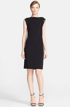 Michael Kors Cap Sleeve Jersey Dress available at #Nordstrom