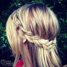 Hair and Make-up by Steph: How To: Wrap Around Braid
