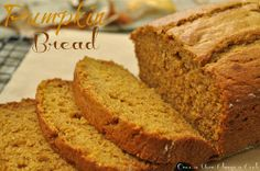 What's fall without Pumpkin Bread?
