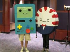 Beemo and Peppermint Butler