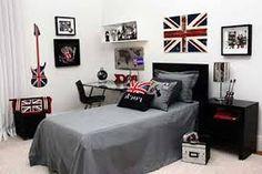 Resultado de imagem para estampa de parede quarto masculino