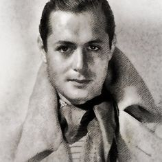 Robert Montgomery, Vintage Hollywood Actor