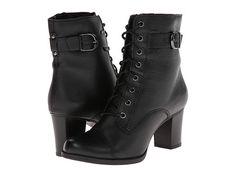 Clarks Jolissa Gypsum Black Leather - Zappos.com Free Shipping BOTH Ways