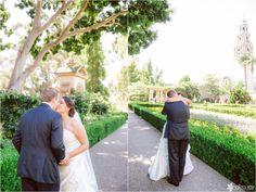 Wedding: Tim & Brittnee: W Hotel// Downtown San Diego, CA » Analisa Joy Photography // first look
