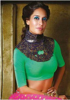 Lisa Haydon's Noblesse magazine Nov 2013 photoshoot | Oneindia Gallery