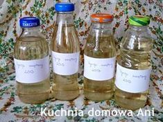 Kuchnia domowa Ani: Syrop miętowy Pop Toys, Mason Jar Wine Glass, Food And Drink, Drinks, Bottle, Tableware, Cooking Ideas, Anna, Drinking