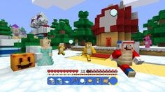 Do you need another version of Minecraft for the Wii U? If you're a Super Mario fan, absolutely. Minecraft Cheats, Minecraft Videos, New Minecraft Skins, Nintendo Characters, Some Games, Just A Game, Texture Packs, All News, Amai