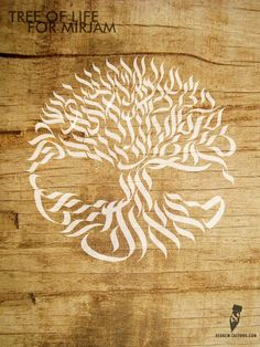 Tree of life for Mirjam by hebrew-tattoos.com