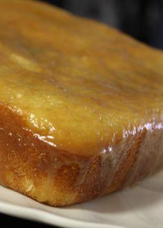 Caramel Cake with Caramel Glaze