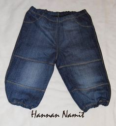jeans for baby. recycling. sewing. diy