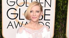 Cate Blanchett pearl tassel earrings