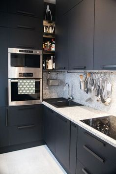 idee deco cuisine blanche et bleu cuisine pinterest kitchens house and interiors