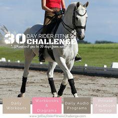 30DRFC 1 (White Horse Trotting) Square