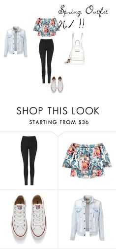 Spring Outfit No1 by vas0an on Polyvore featuring Elizabeth and James, Topshop, Converse and River Island