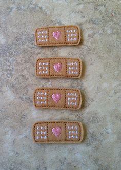 Doc Mcstuffins Inspired Bandage Felties by JustForFelties on Etsy, $4.00