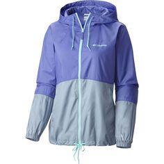 Women's Flash Forward™ Windbreaker Jacket - Purple Lotus - 1585911 Windbreaker Jacket, Hooded Jacket, Columbia Jacket Womens, Columbia Country, Columbia Sportswear, Rain Jacket, Active Wear, Clothes For Women, Stylish