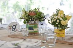 Wedding DIY Ideas: How to Make Stenciled Table Numbers