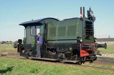 Locomotor NS 288 bij de Stoomtram Hoorn-Medemblik, te Twisk; 29 september 2013.