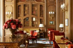 The New Ritz Paris is Finally Complete, and It's As Beautiful As We Expected  - HouseBeautiful.com