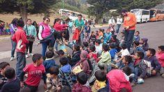 Donación de juguetes en el santuario de mariposa monarca ene-2015