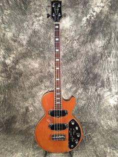 Gibson Les Paul Bass 1972 Brown triumph recording | Reverb