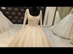 فساتين فيلوات ملكي تفصيل خاص حسب الطلب شغل نول Youtube Wedding Dresses Lace Wedding Dresses Dresses