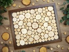 GIFT guestbook wood 130 g. Wood Guest Book, Guest Book Alternatives, Save The Date, Stone, Outdoor Decor, Guestbook, Wood Burning, Gifts, Wedding