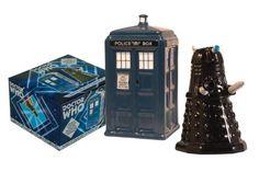 Amazon.com: TARDIS v. Dalek Salt and Pepper Shaker: Kitchen & Dining