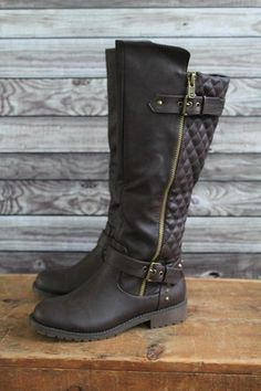 Brown Riding Boots   Lily & Sparrow Boutique