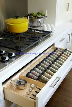 Creating the best smart kitchen storage is easier. Storage for your kitchen helps you to make your kitchen doesn't look messy so that you need it. However, when you create it, you have to know smart kitchen storage solution ideas… Continue Reading → Smart Kitchen, Cheap Kitchen, New Kitchen, Kitchen Decor, Long Kitchen, Rustic Kitchen, Kitchen Layout, Awesome Kitchen, Kitchen Modern