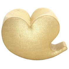 Gold Soft Heart Rocking Chair by Ron Arad Edited by Moroso, 1991-2011