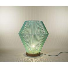 Lampe de sol shining Bleu Turquoise 650€