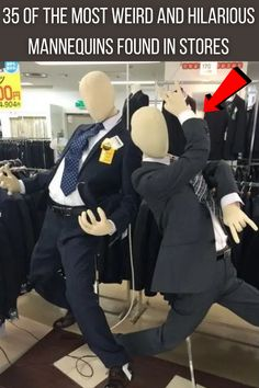 "Mannequins are funny objects. They're meant to do something very simple: display clothes in a way that gives you an idea of how they look on a real person. Unfortunately, that often misses the mark! Or maybe we should say ""fortunately"" because that means we have more to laugh at."