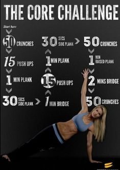 Fitness! Workout routine