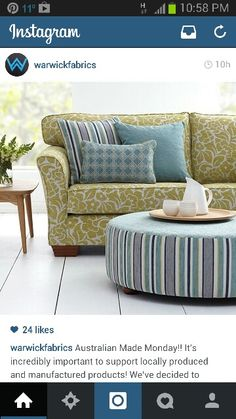 Sofa pattern - warwick