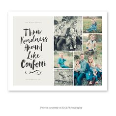 Throw Kindness Around Like Confetti Collage Wall Art Shape Collage, Collage Design, Collage Ideas, Wall Collage, Wall Art, Family Photography, Art Photography, Collage Template, Its A Wonderful Life