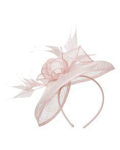 Hats & Fascinators   Pink Laura Fascinator   Phase Eight